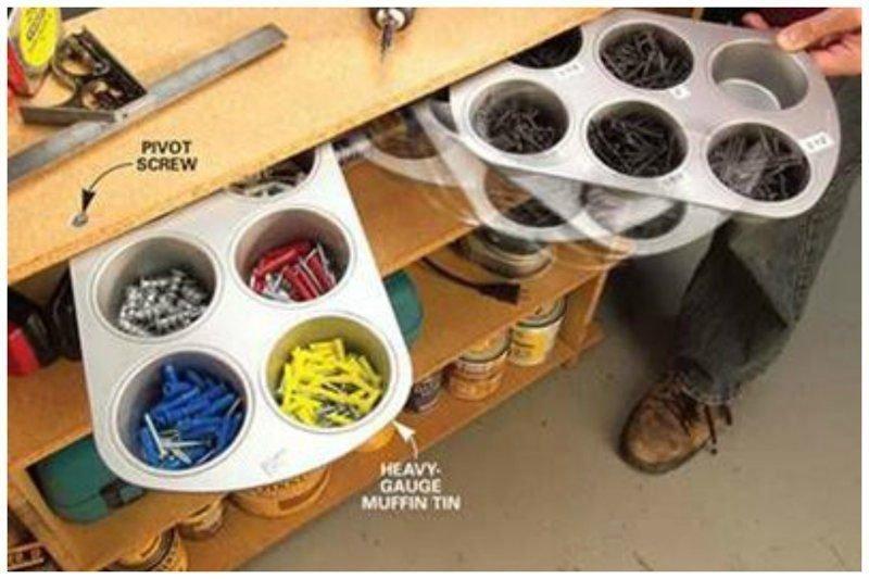 15 идеальных гаражей, где можно построить что угодно гараж, идеальный, инструменты, мастерская, перфекционизм, порядок