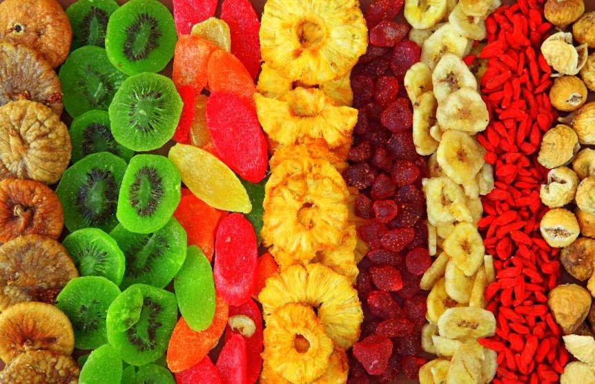 Как и почему сушеные фрукты …