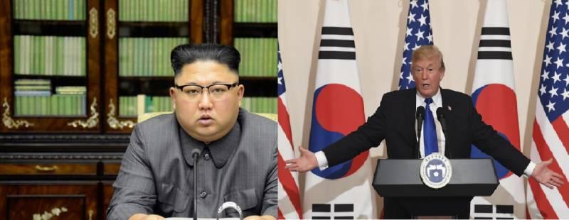 Американский разбойник в северокорейском доме