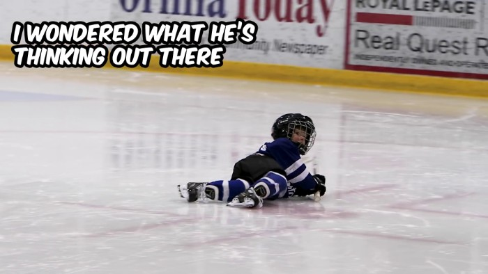 """I Mic'd Up My 4-Year-Old At Timbits Hockey So I Could Finally Understand What The Heck He Was Doing Out There"""