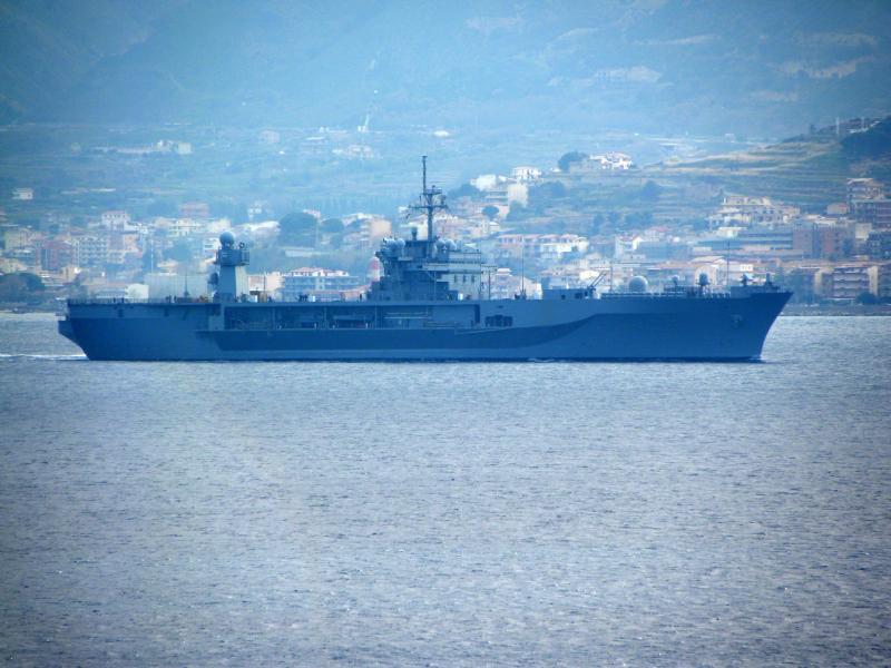 10 лет визиту USS Mount Whitney в Севастополь