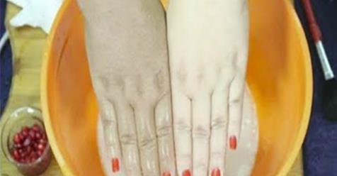Научитесь отбеливать руки с помощью этого удивительного естественного метода