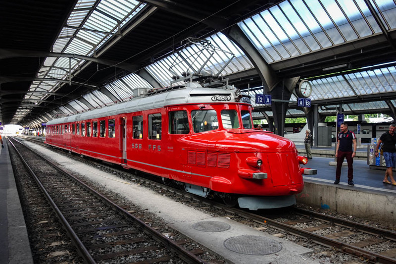 Как выглядят швейцарские железные дороги