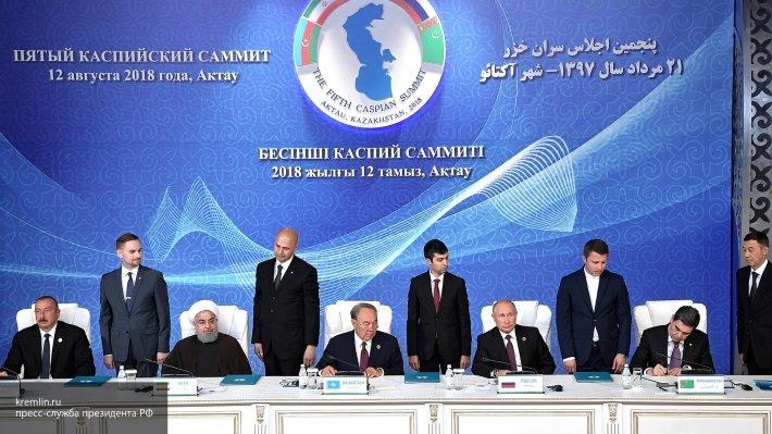«Создает базу для сотрудничества»: МИД Казахстана о конвенции по Каспию