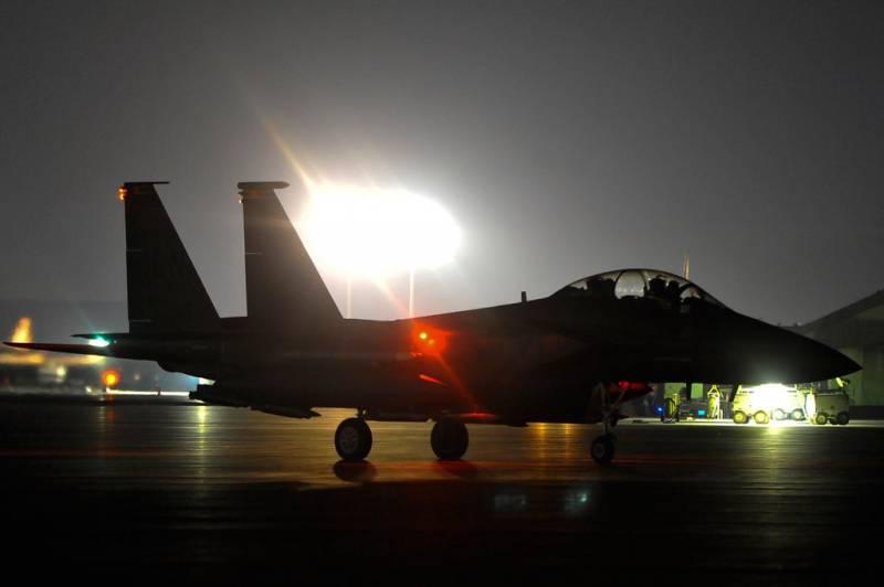 Шах и мат от ВВС США на юге …
