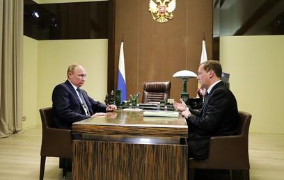 Путин подписал указ об изменении структуры правительства