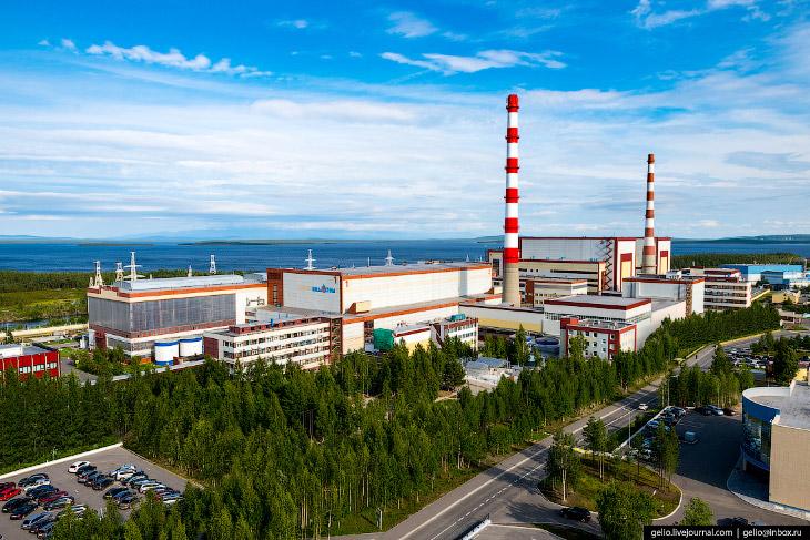 Кольская АЭС— самая северная атомная станция Европы