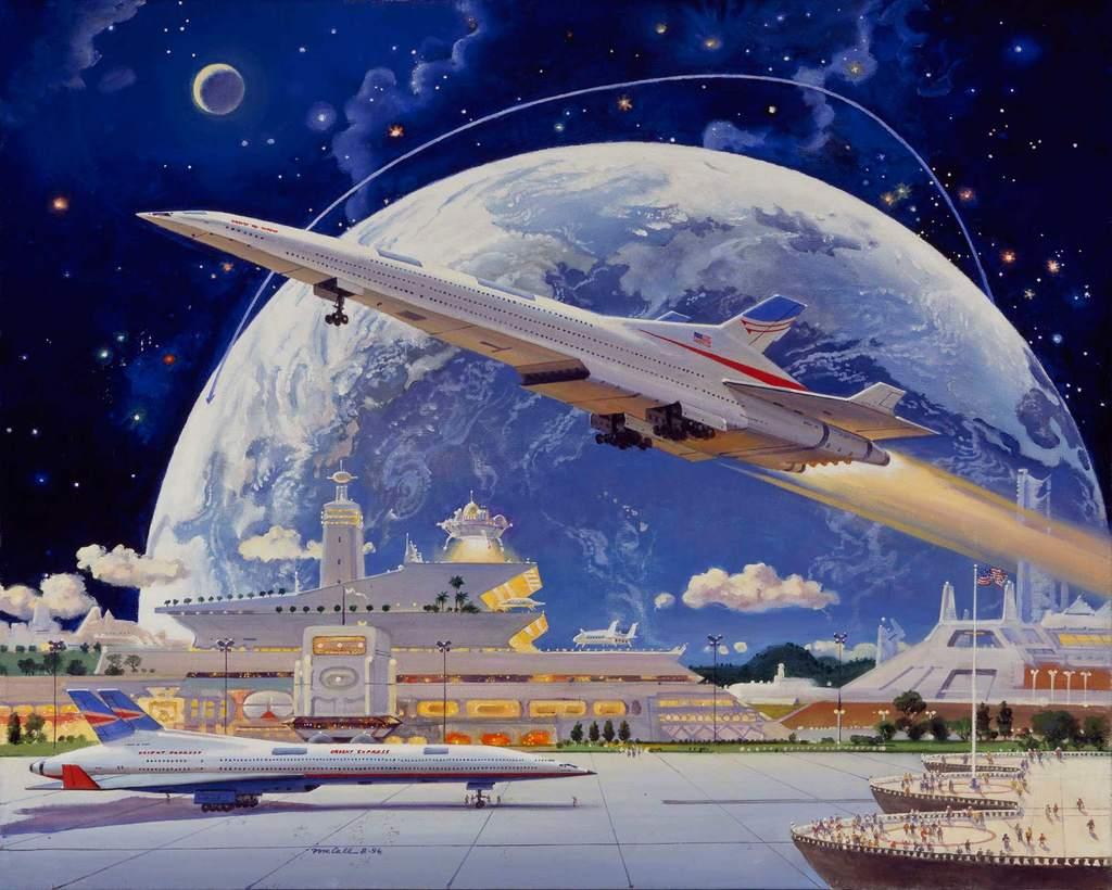 Почему не было американского сверхзвукового лайнера