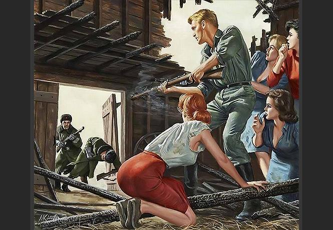 Шедевры клюквы антисоветского плаката