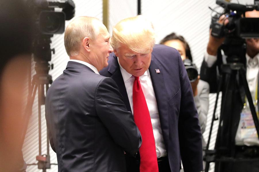 Две страницы из России как основа совместного заявления Трампа и Путина