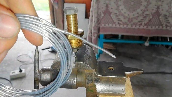 Пайка различных металлов проволокой с Aliexpress