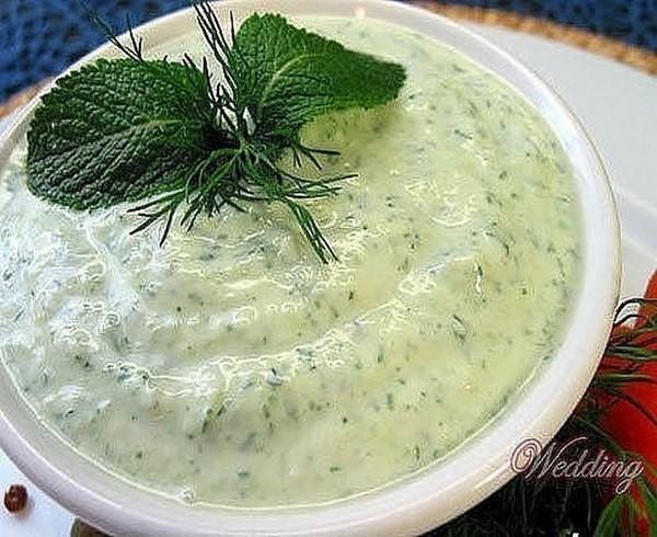 Вкуснейший огуречный соус!