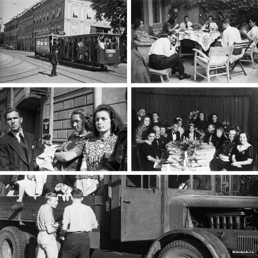 Жизнь на территории Третьего рейха во время войны (20 фото)