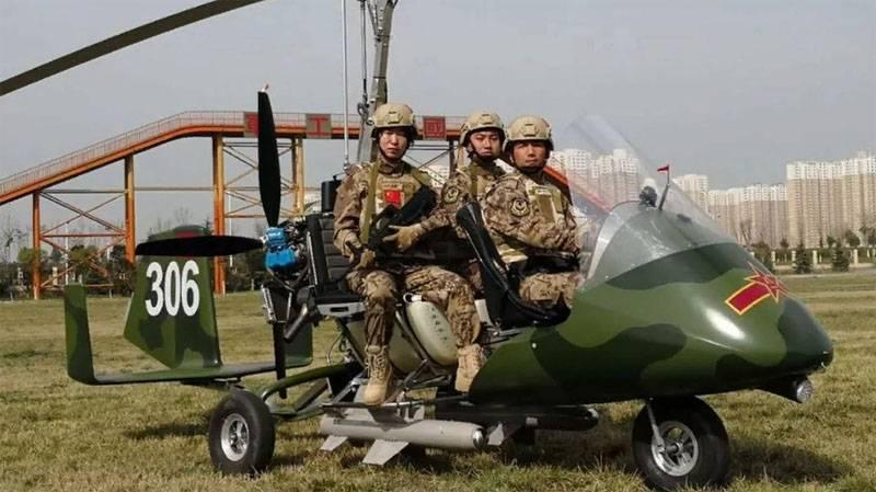 """В Китае рассказали о летающем """"жалящем скорпионе"""" для бойцов спецназа"""