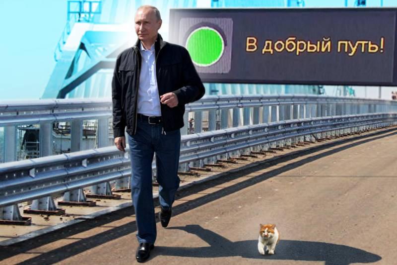 Путин, указующий Путь.
