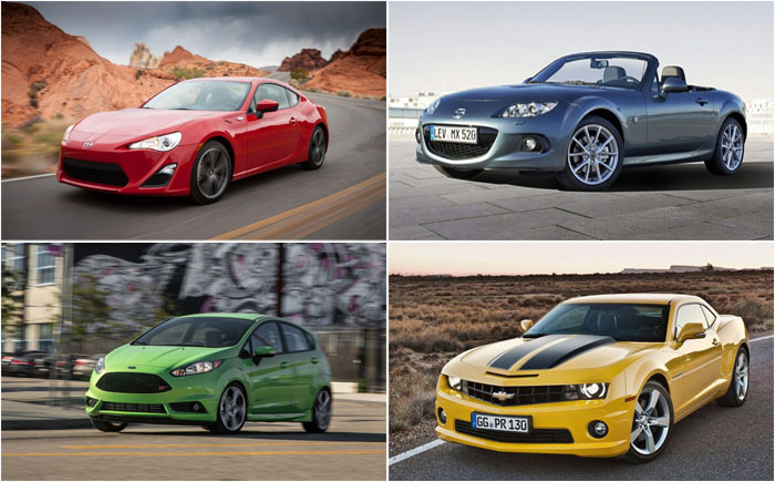 15 самых быстрых и недорогих автомобилей