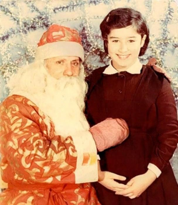 Тина Канделаки в детстве. / Фото: www.peopletalk.ru