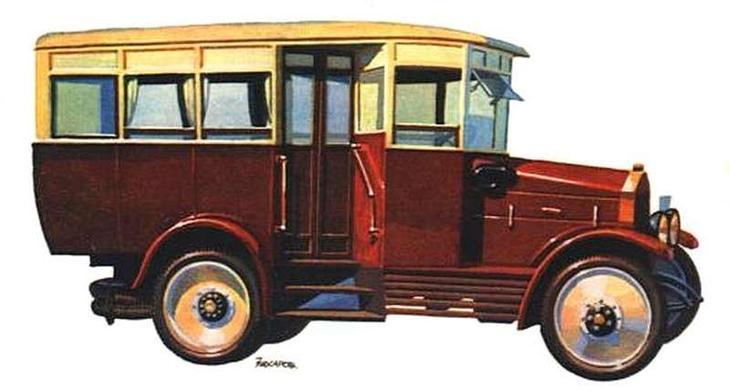 Городские автобусы АМО — ЗИС…