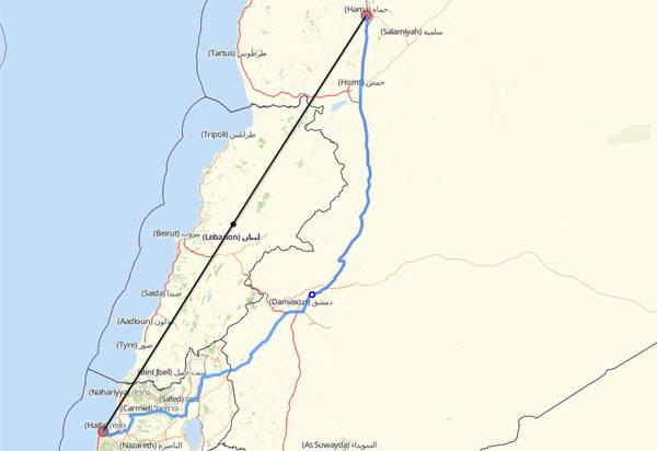 СМИ: Израильские самолёты ретировались после обнаружения средствами ПВО САР