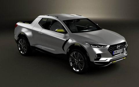 Hyundai заканчивает работу над новым пикапом