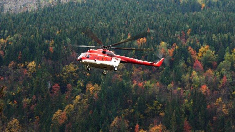 На Камчатке вертолет с турис…