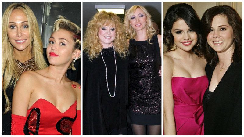 Знаменитости и их мамы
