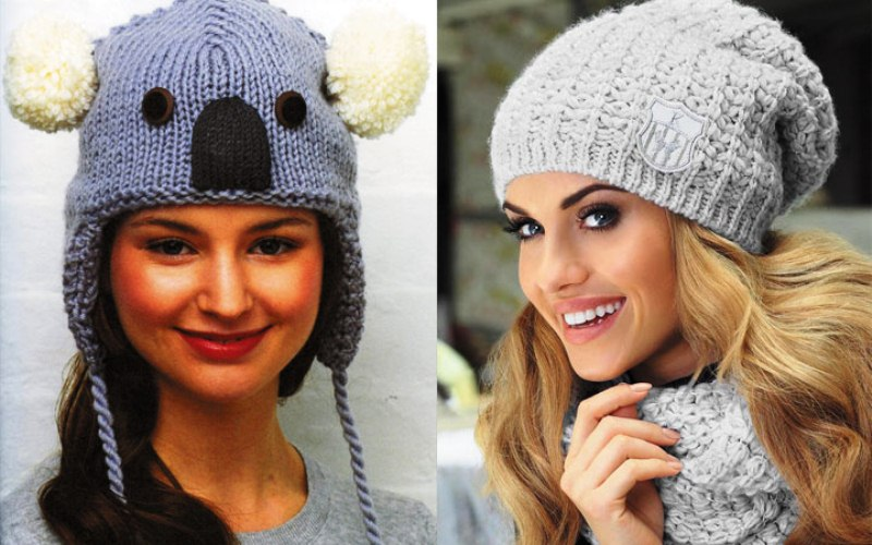 Модные женские шапки осень-з…