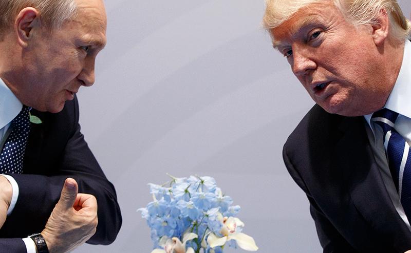 Александр Халдей:  Путин передал Трампу компромат на весь Вашингтонский обком. Когда рванёт?
