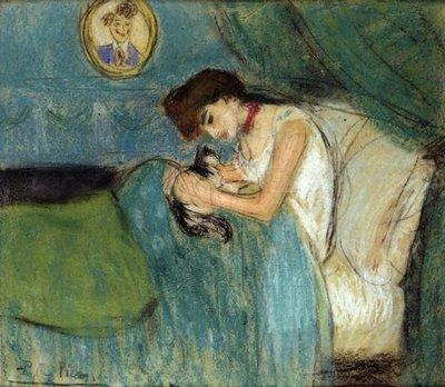 Женщина и кошка. Верлен