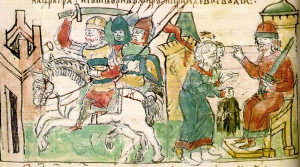 Детство и княжение в Новгороде князя Святослава Игоревича