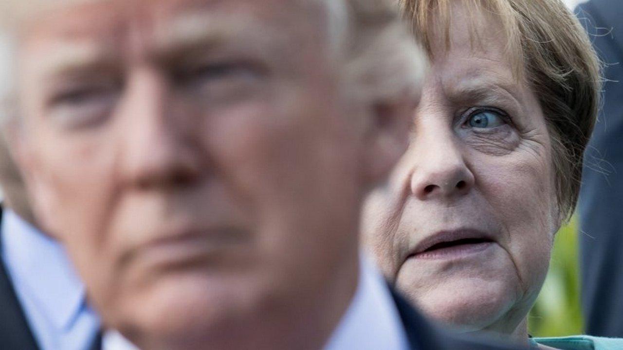 «Я обсудил этот вопрос с Ангелой Меркель в довольно жёстких тонах…»