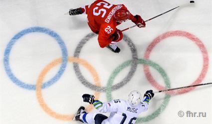 Сборная России по хоккею сыг…