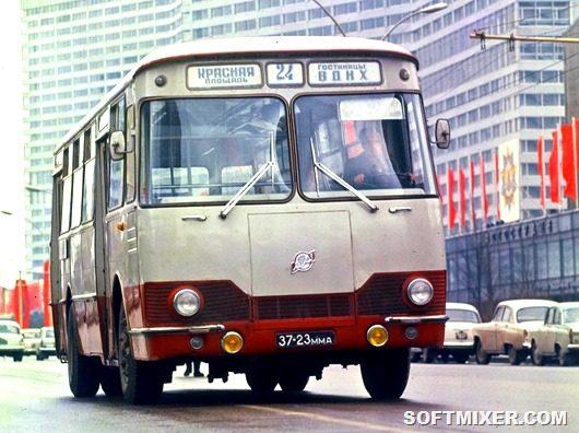 История советского автобуса