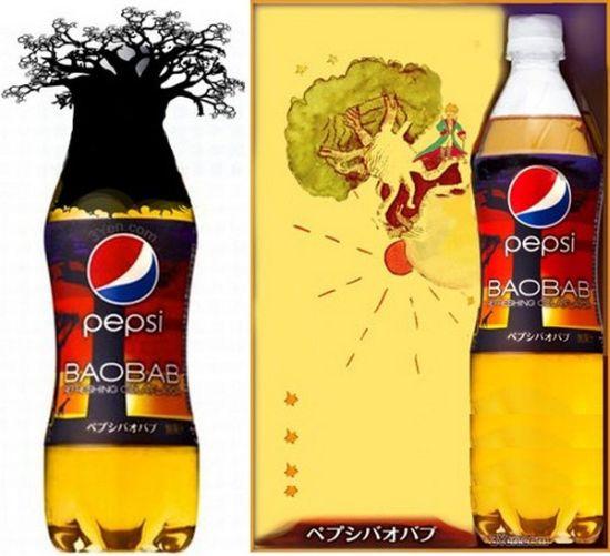 Разные вкусы Pepsi-Cola