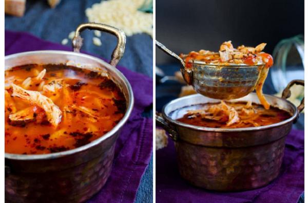 Томатный суп с курицей. Вы точно будете в восторге!