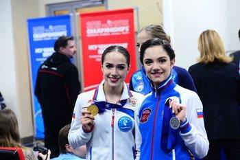 Фигуристка Алина Загитова стала чемпионкой Европы в 15 лет