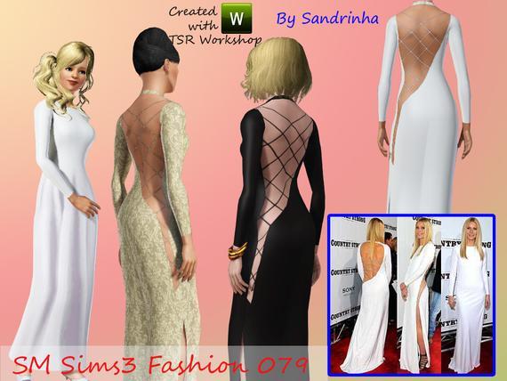 Вечернее платье от Sandrinha