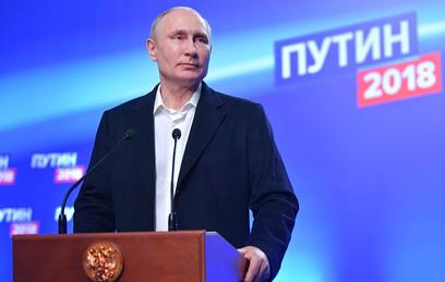 Поддержка Путина в Москве возросла на 50% по сравнению с предыдущими выборами