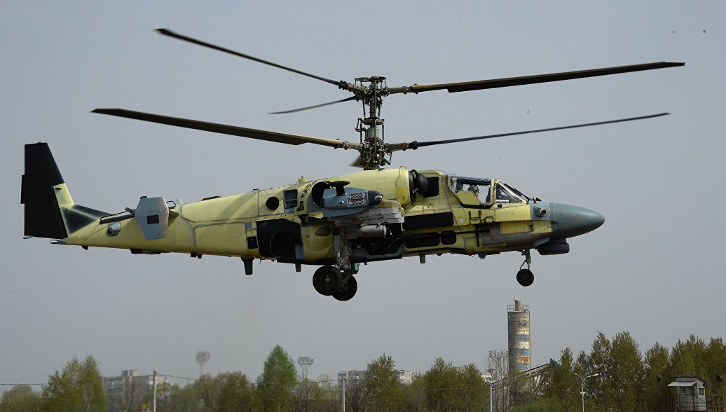 """Вертолеты КА-52 получат """"космическую"""" систему наведения вооружения"""