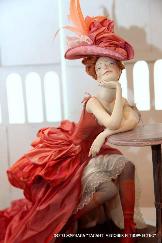 Авторские куколки из полимерной глины для вдохновения 6