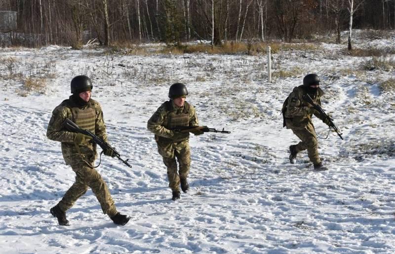 Украинская ДРГ нарвалась на минное поле при попытке проникнуть в ЛНР