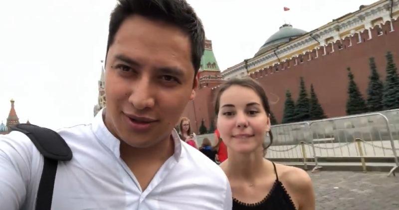 Первая интернациональная свадьба ЧМ-2018: мексиканец Мигель и наша Кристина