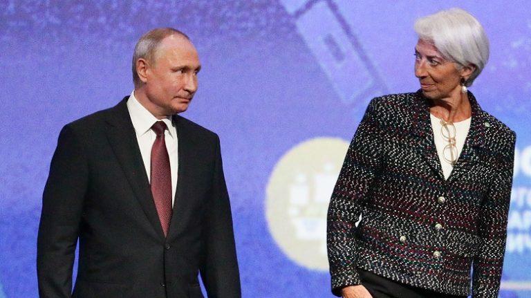 Штаты с помощью МВФ борются с майскими указами Владимира Путина