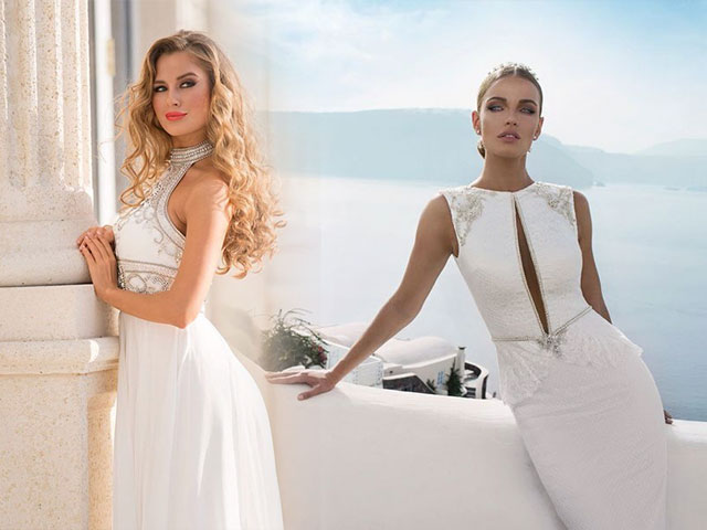 Короткое и длинное белое платье на все случаи жизни