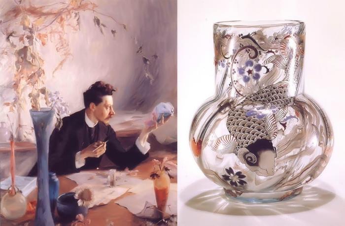 Эмиль Галле – художник, соединивший стекло и ботанику, чьи вазы восхищали семью последнего русского императора