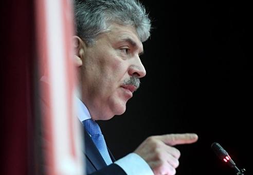 """Грудинин заявил, что решил бы """"молочный вопрос"""" с Минском, став президентом"""