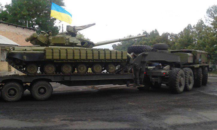 Под Мариуполем ВСУ потеряли танк в бою с «боевиками «Азова»