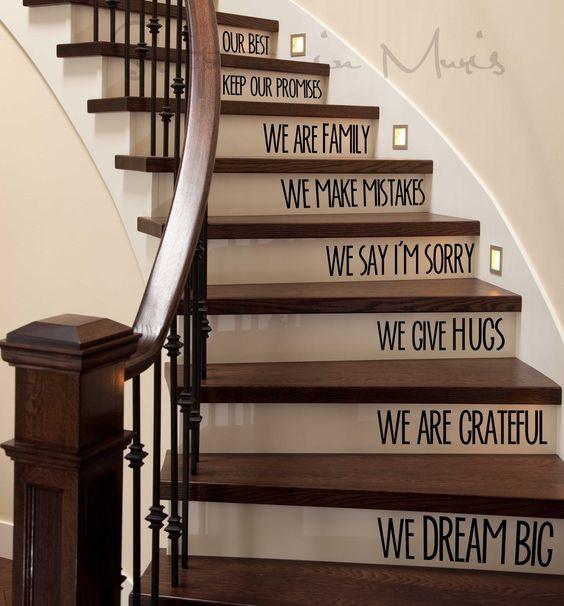 Лестницы со словами и послан…