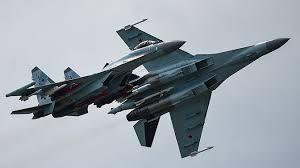 Взлёт на форсаже и бочка: «Соколы России» показали возможности Су-35С