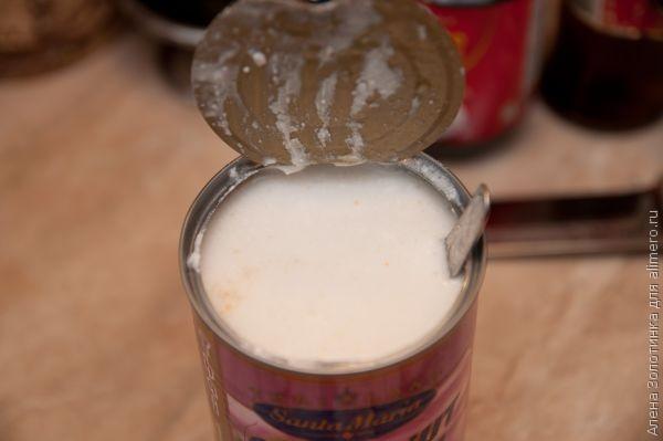 размешаем кокосовое молоко
